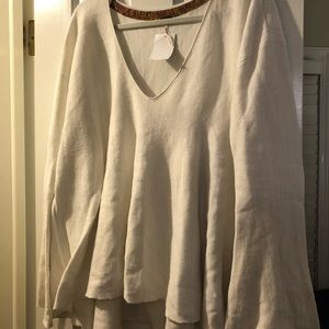 Free people vneck sweater